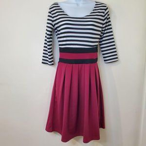 Young Threads Small Striped Dress